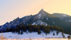 Mellow Mountain Sunset
