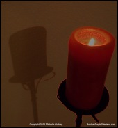 Neon Candle
