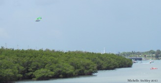 Parasailing Over The Inlet